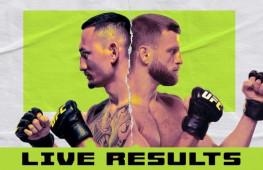 Результаты турнира UFC on ABC 1