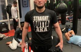 Напарник Нурмагомедова: Думаю, что Хабиб проведет бой за титул чемпиона UFC в полусреднем весе после победы над Фергюсоном