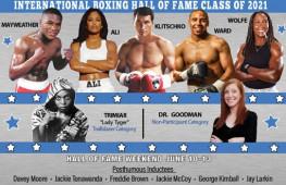 Мейвезер, Кличко и Уорд вошли в Зал славы бокса