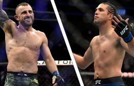 Бой Александра Волкановски и Брайана Ортеги на UFC 260 отменен