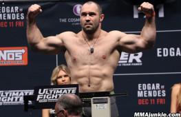 Константин Ерохин провалил допинг-тест в последнем бою в UFC