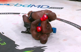 Кори Андерсон досрочно победил Мелвина Манхуфа в дебюте на Bellator (+Видео)