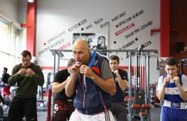 Фото: Мастер-класс Романа Кармазина в Академии бокса