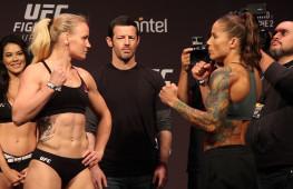 Видео: Взвешивание участников UFC Fight Night 156