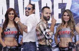 Кадр дня: Маргарито и Альварес провели финальную пресс-конференцию