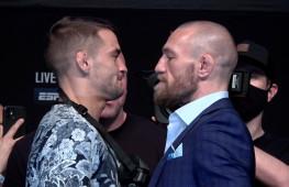 Пресс-конференция UFC 257: Комментарии главных участников