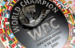 WBC представил новый памятный пояс Масауа-Отоми