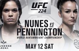 Видео боев UFC 224
