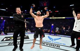 Омари Ахмедов о победе на UFC 245: Сейчас я добился места в топ-10, а в 2020 году хочу стать претендентом на пояс
