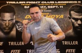 Оскар Де Ла Хойя вдохновлен боями Гатти перед возвращением на ринг