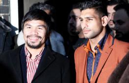 Мэнни Пакьяо и Амир Хан подписали контракт на бой в Саудовской Аравии