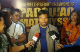 Кадр дня: Мэнни Пакьяо прилетел в Малайзию