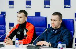 Пресс-конференция участников бойцовского шоу 5 мая в Екатеринбурге