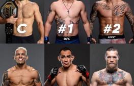 UFC не стала ставить Конора Макгрегора выше Тони Фергюсона в обновленном рейтинге