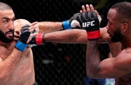 Результаты турнира UFC Fight Night 187