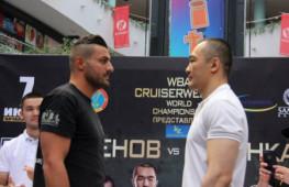 Бейбут Шуменов завоевал титул WBA в первом тяжелом весе