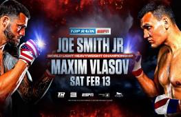 Максиму Власову не дают много шансов в бою против Джо Смита-младшего
