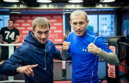 Открытая тренировка Дмитрия Михайленко и Павла Маликова