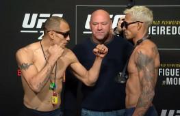 Фергюсон перевесил Оливейру, все бои UFC 256 утверждены (+ Видео дуэлей взглядов)