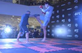 Тренировка бойцов турнира UFC 224