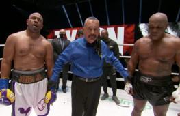 Показательный бой Майка Тайсона и Роя Джонса продлился все раунды