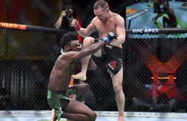 Медицинские отстранения участников турнира UFC 259