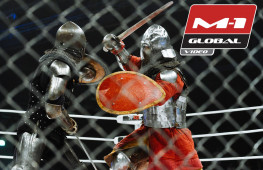 Рыцарский бой на турнире M-1 Challenge 56