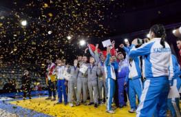 Команда России заняла первое место на чемпионате мира по рукопашному бою