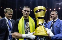 Александр Усик, Анатолий Ломаченко и Эгис Климас получили награды BWAA