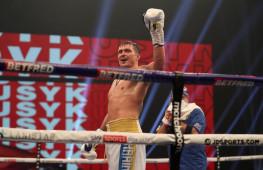 Денис Лебедев: Будем болеть за Александра Усика