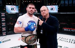 Валентин Молдавский стал временным чемпионом Bellator в тяжелом весе