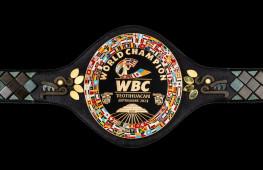 Кадр дня: Пояс WBC для боя Канело-Плант