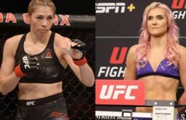 Яна Куницкая и Ирен Алдана проведут бой на UFC 264