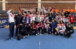 Сборная России заняла первое место на юниорском чемпионате Европы