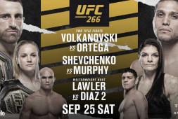 Расклады на основные бои UFC 266