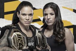 Официально: Аманда Нуньес и Джулианна Пенья перенесли бой на UFC 269