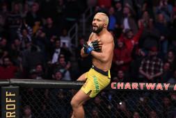 Дейвисон Фигейредо выиграл титул UFC, победив Джозефа Бенавидеса