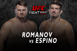 UFC Vegas 24: Александр Романов — фаворит в бою против Хуана Эспино