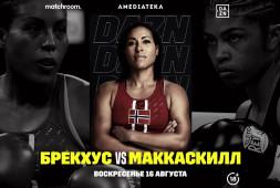 «Войти в историю». Превью боя Брекхус-МакКаскил на турнире DAZN Matchroom Boxing