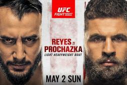 Прямая трансляция UFC on ESPN 23. Где смотреть?