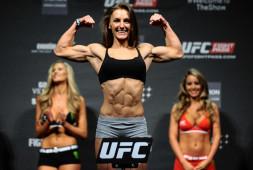 Александра Албу успешно дебютировала в UFC