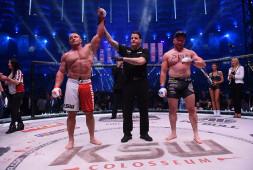 KSW 39: Мамед Халидов, Мариуш Пудзяновский, Матеуш Гамрот одерживают победы