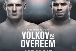 UFC в России: Волков-Оверим; UFC Прага: Ян, Исмагулов, Хабилов, Анкалаев