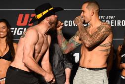 Видео: Взвешивание участников UFC Fight Night 126
