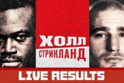 Результаты турнира UFC on ESPN 28