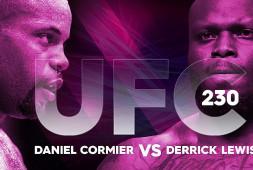 Прямая трансляция UFC 230