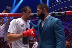 Усман Нурмагомедов досрочно победил Святослава Шабанова