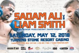 Поединок Садама Али и Лиама Смита состоится 12 мая в США