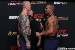 Взвешивание участников UFC on ESPN 18