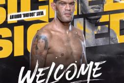 Антонио Сильва подписал контракт с Bare Knuckle Fighting Championship